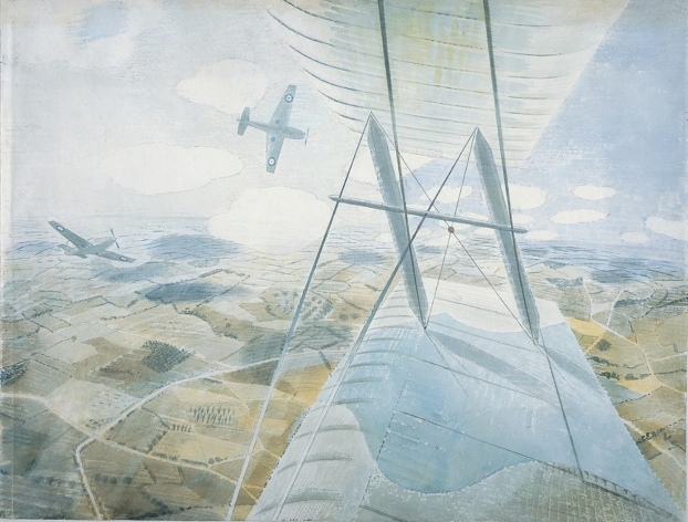 Official War Artist's views were often unexpected.
