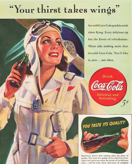 Coca-Cola-Woman-Pilot-Your-Thirst-Takes-Wings