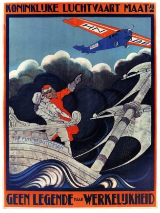 Vintage-Advertising-Poster-KLM-the-Flying-Dutchman-Classic-Canvas-Paintings-Vintage-Wall-Posters-Stickers-Home-Decor.jpg_640x640