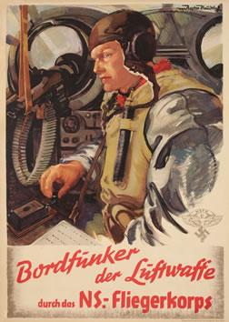 Bordfunker der Luftwaffe