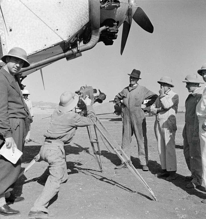 Flugplatz in Addis Abeba