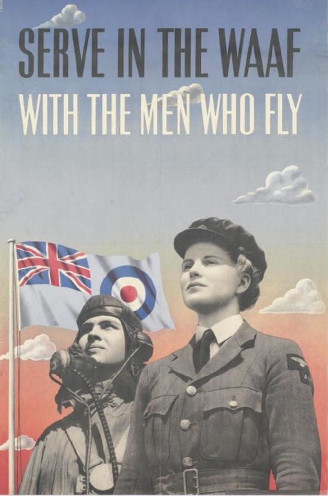 Serve_in_the_Waaf_with_the_Men_Who_Fly_Art.IWMPST3096