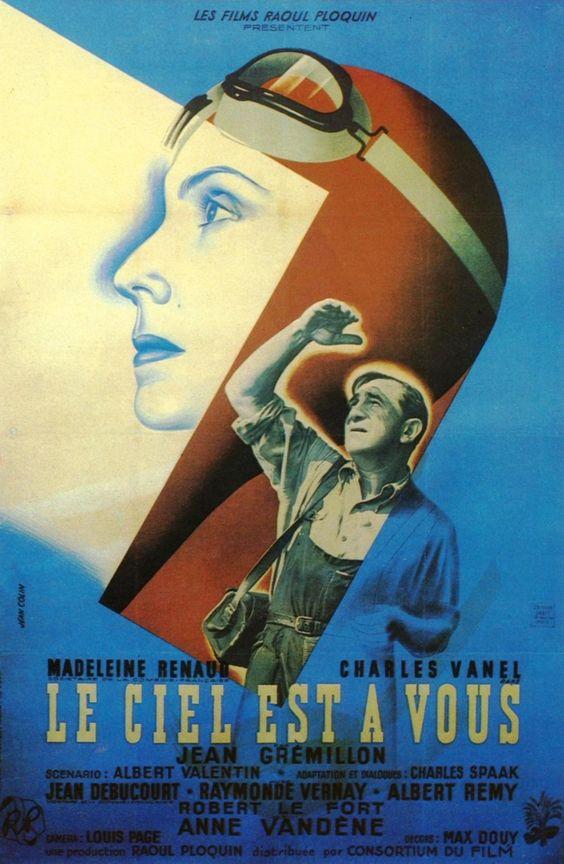 Le ciel est à vous (The Woman Who Dared) 1944